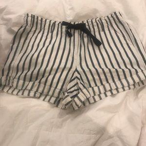 Loft Lou & Grey linen cotton blend shorts